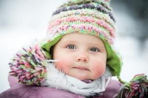 La montagne l'hiver avec bébé