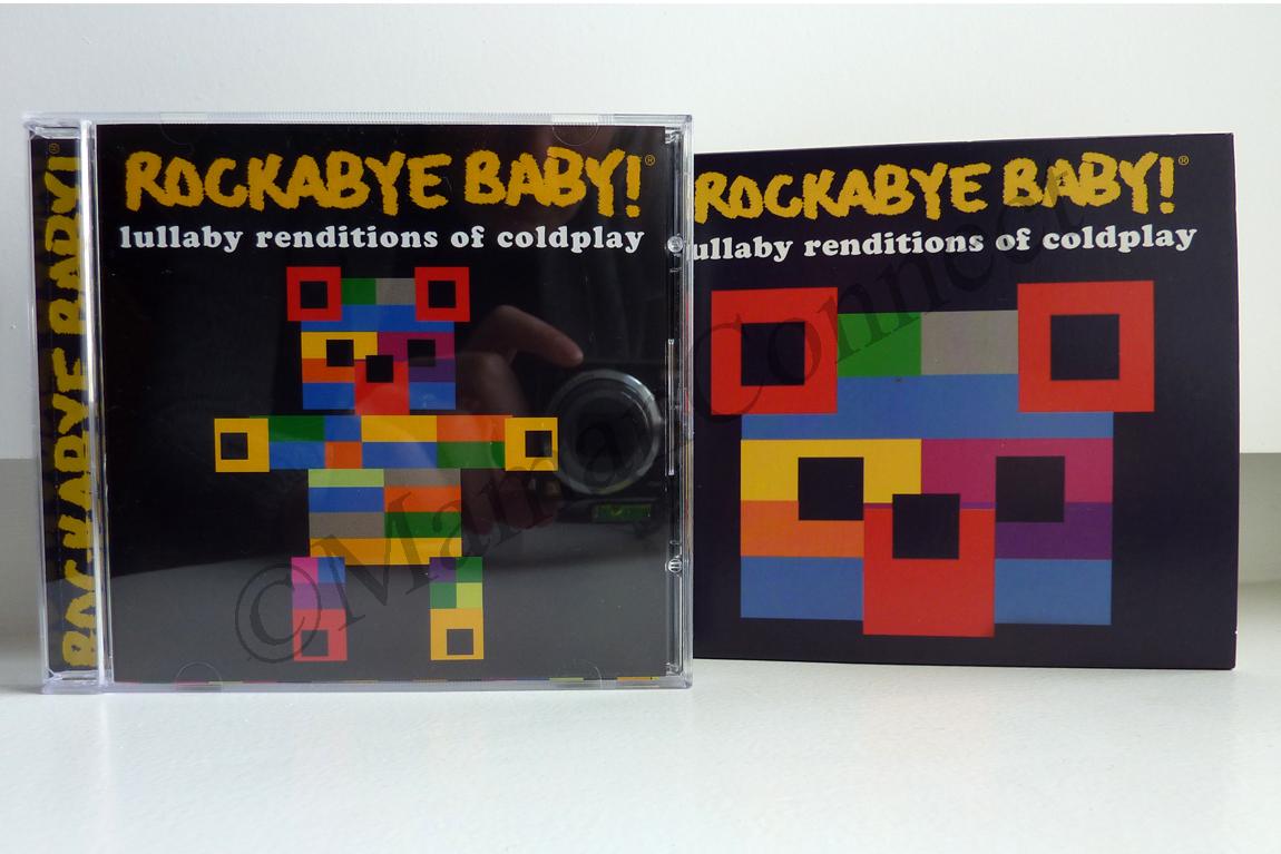 pochette cd rockabye baby