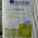 matelas panda candide etiquette