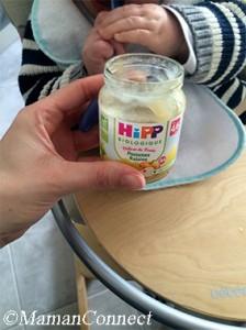 Petit pot Hipp Biologique aux fruits