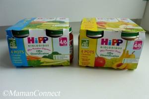 Packaging Hipp Biologique