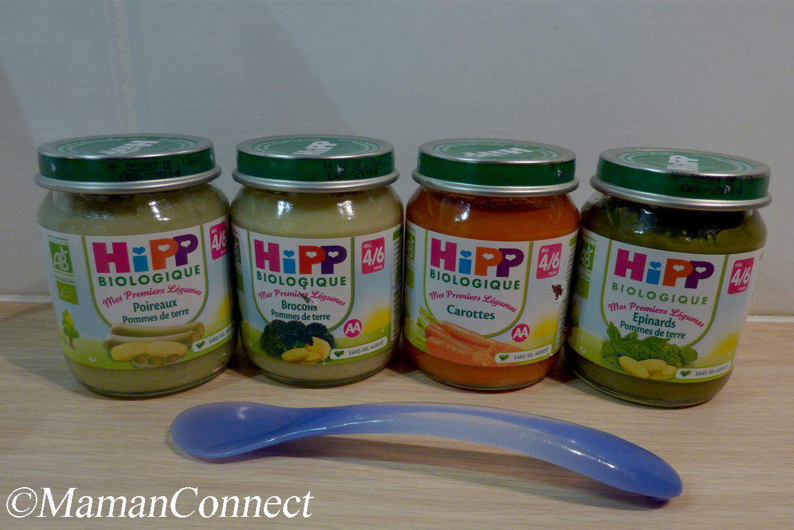 Petits pot Hipp Biologique légumes