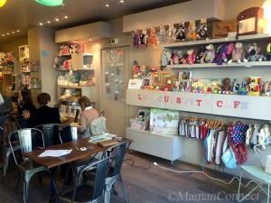 Poussette Café salle