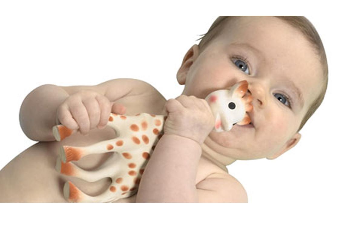 Sophie la Girafe et bébé