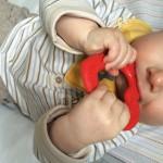 Anneau de dentition pour bébé Luc et Léa