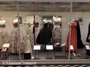 Balade au musée V&A robes