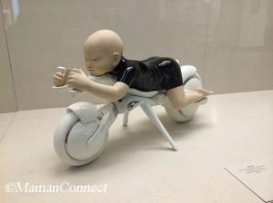 balade V&A bebe sur moto