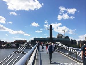 Tate Modern et Millenium Bridge