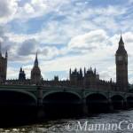 Londres avec bébé: retrouvailles en famille et visites