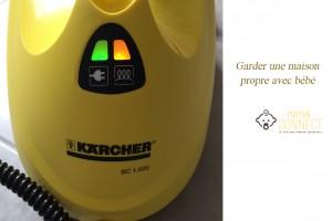 Nettoyeur vapeur Karcher propre