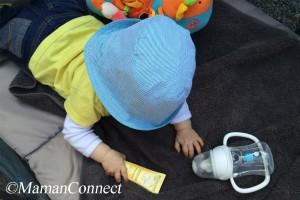 Protéger bébé du soleil