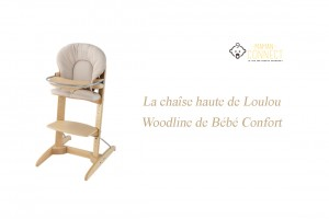 Chaise haute Woodline Bébé Confort