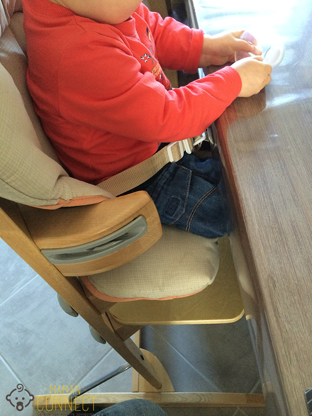 chaise haute sans tablette maman connect. Black Bedroom Furniture Sets. Home Design Ideas