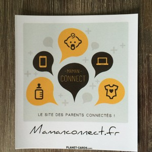 Magnet photo logo Maman Connect