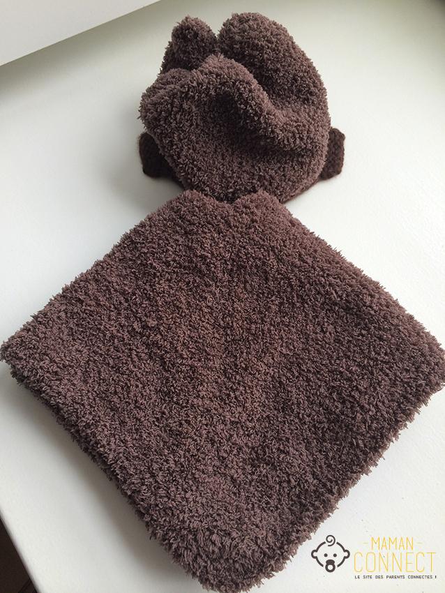 Tricot un poncho pour b b maman connect - Explication pour tricoter un poncho femme ...
