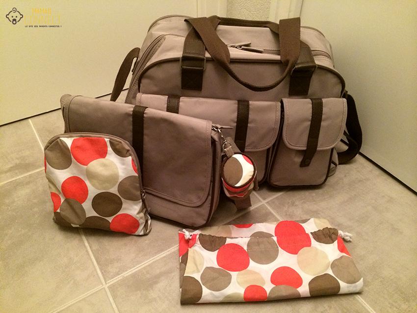 sac à langer Verbaudet accessoires