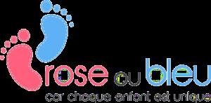 Logo rose ou bleu