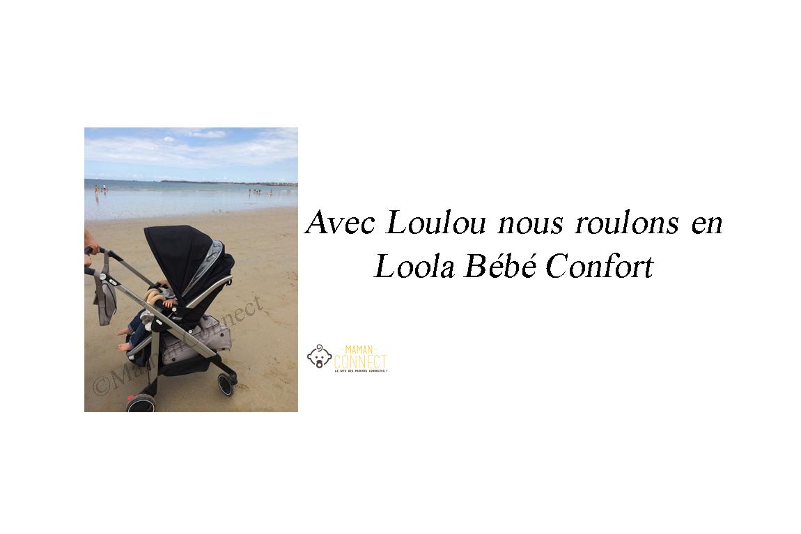 Poussette loola b b confort maman connect for Maman connect