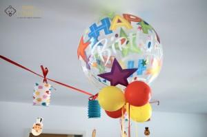 Ballon guirlande anniversaire thème du cirque