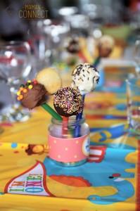 Pop cake anniversaire cirque
