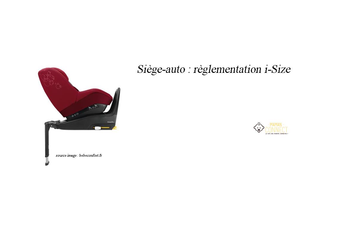 siege auto règlementation i-size