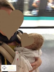 sieste en baby carrier Pognae