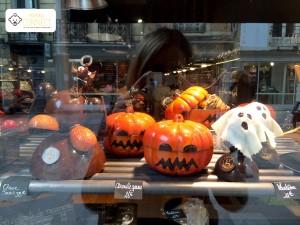 vitrine chocolat halloween Rennes