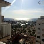 vue sur le port de El Arenal
