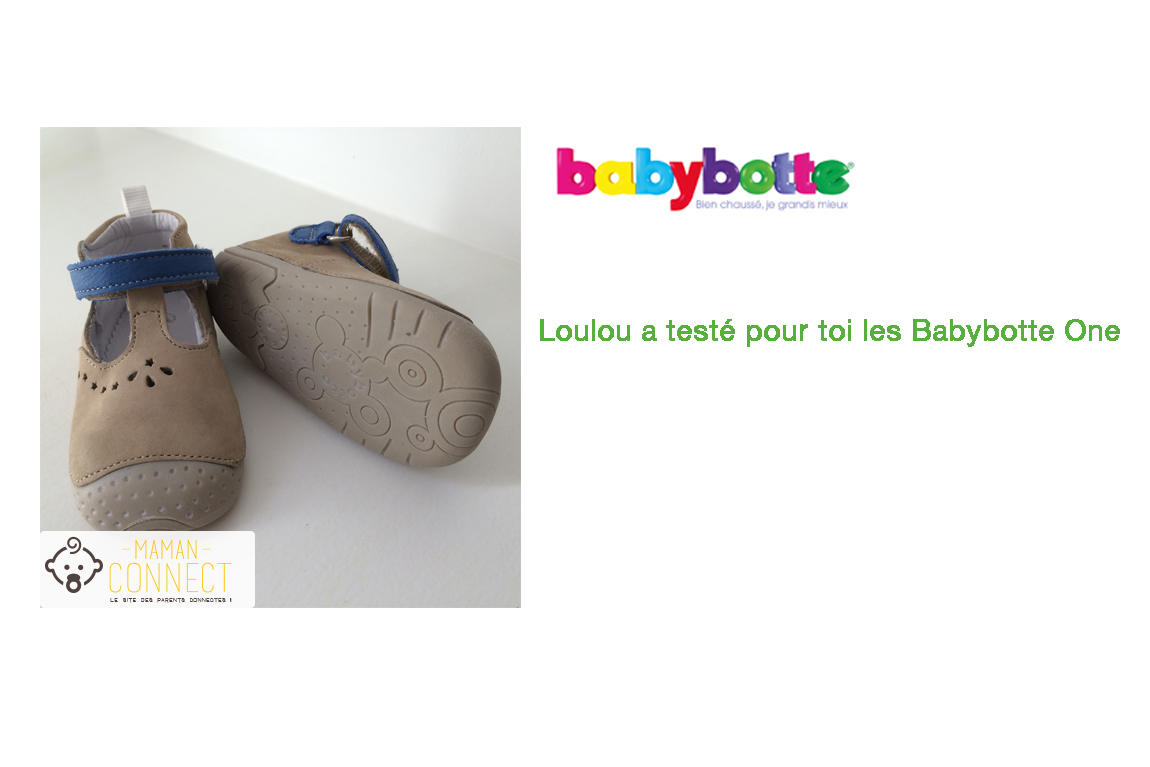 Babybotte one premi res chaussures de marche concours for Maman connect