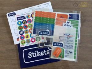 Basic pack Stikets étiquette pour enfant
