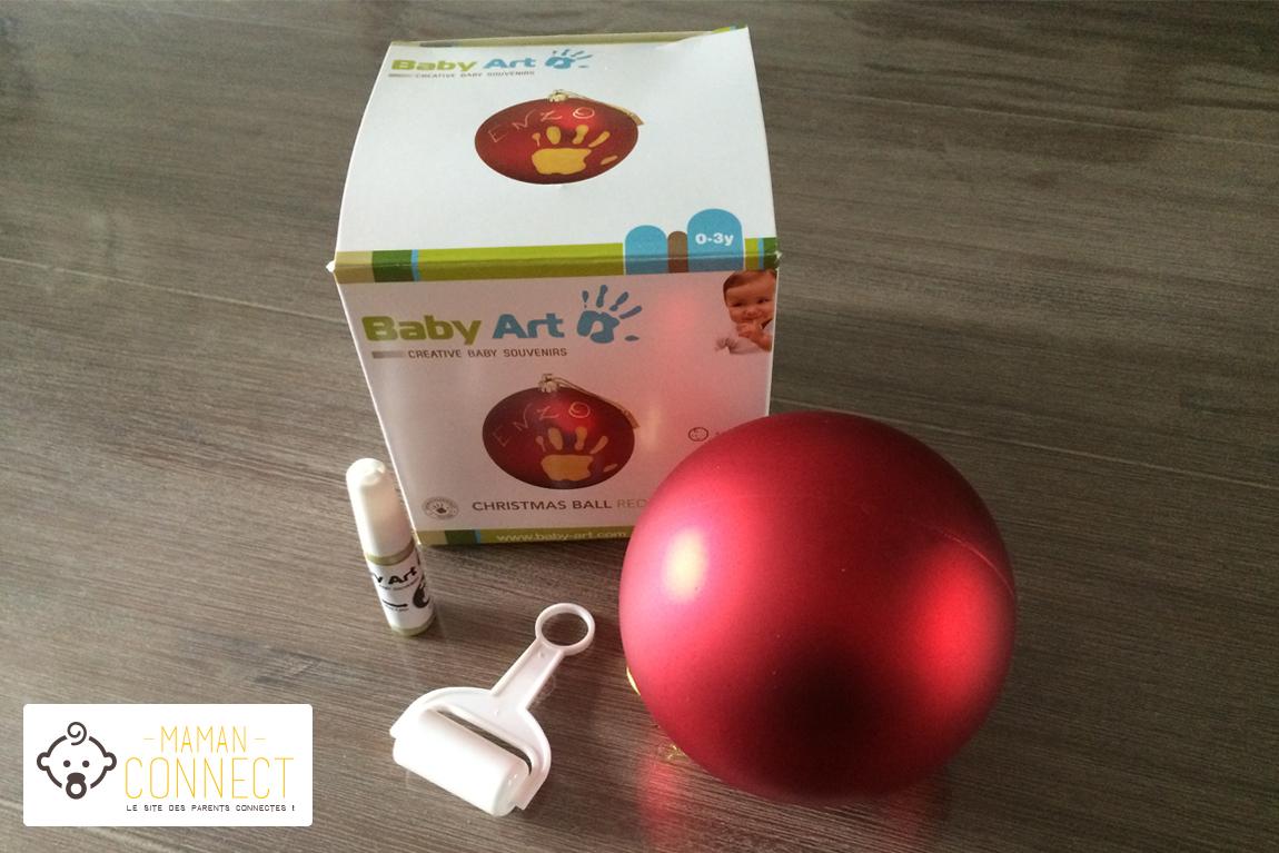 boule de Noël Baby Art