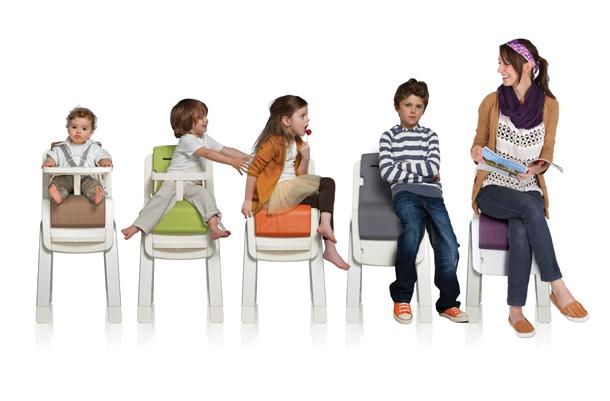 Chaise haute Zaaz Nuna evolutive