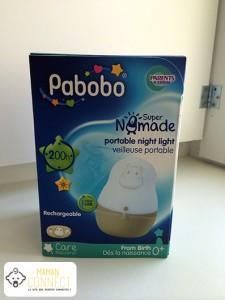 coffret veilleuse super nomade pabobo