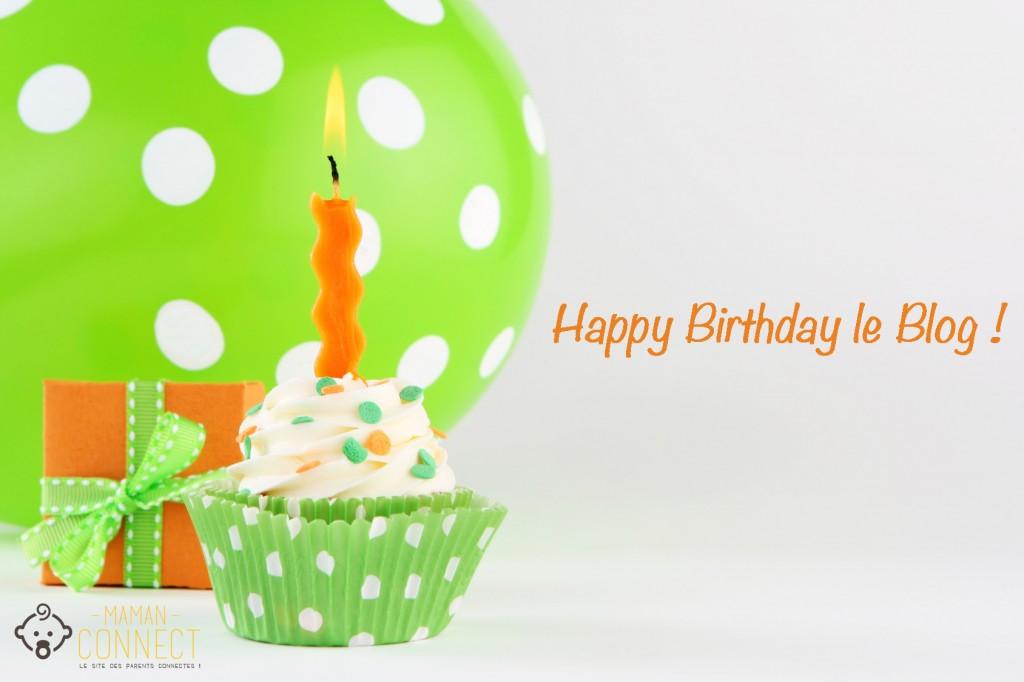 birthday cupcake happy birthday le blog 1 an