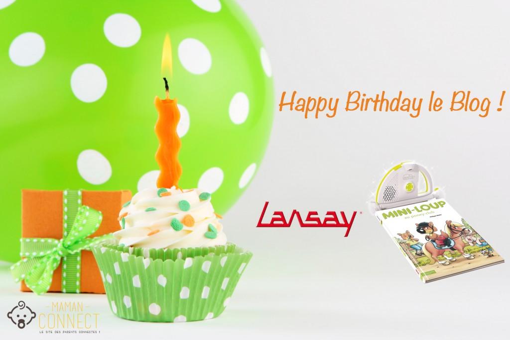 birthday cupcake anniversaire blog lansay