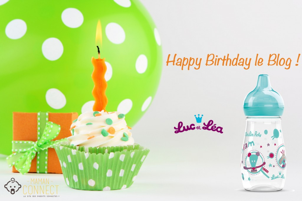 birthday cupcake anniversaire blog luc et lea