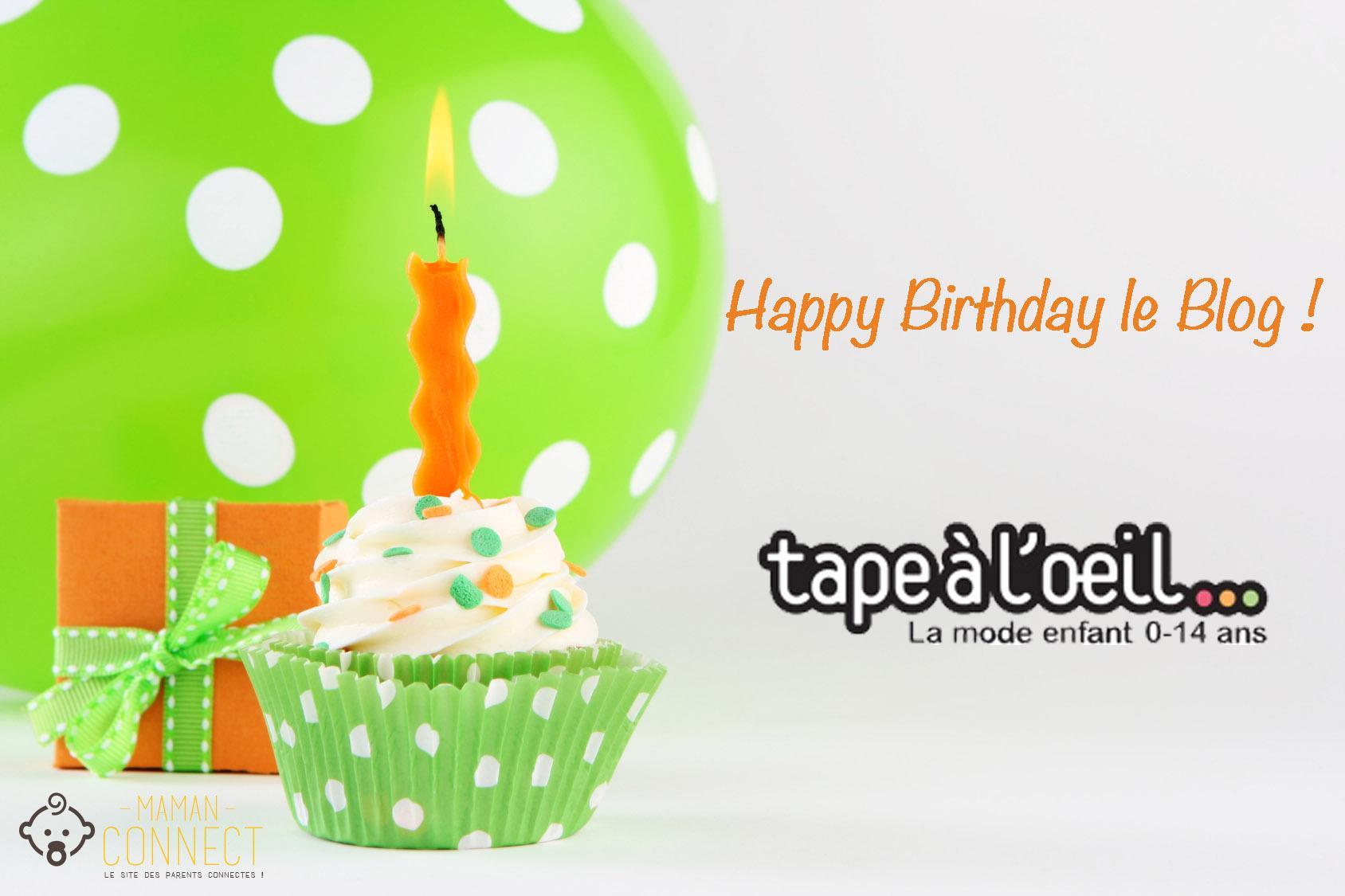 birthday cupcake anniversaire blog TAO
