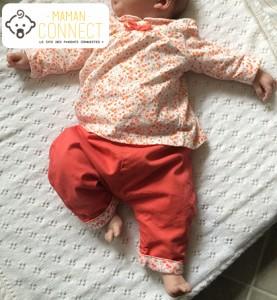 Ensemble bébé fille TAO