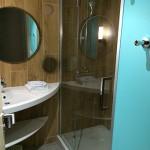 Salle d'eau cottage premium Center Parcs Bois aux daims