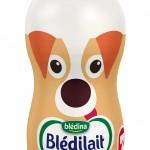 Bouteille Blédilait lait de croissance chien