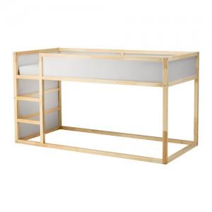 Lit Kura Ikea réversible blanc