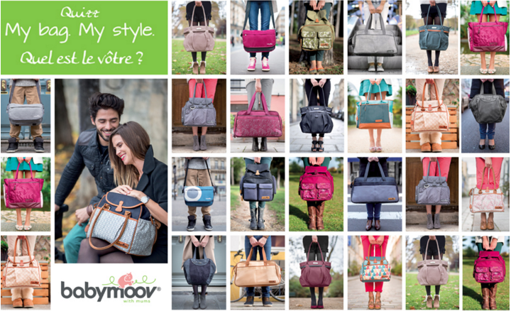 Collection des sacs à langer Babymoov