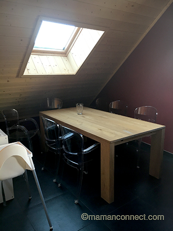 salle manger maman connect. Black Bedroom Furniture Sets. Home Design Ideas
