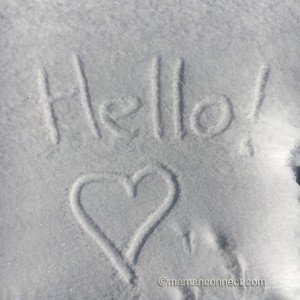 Hello neige