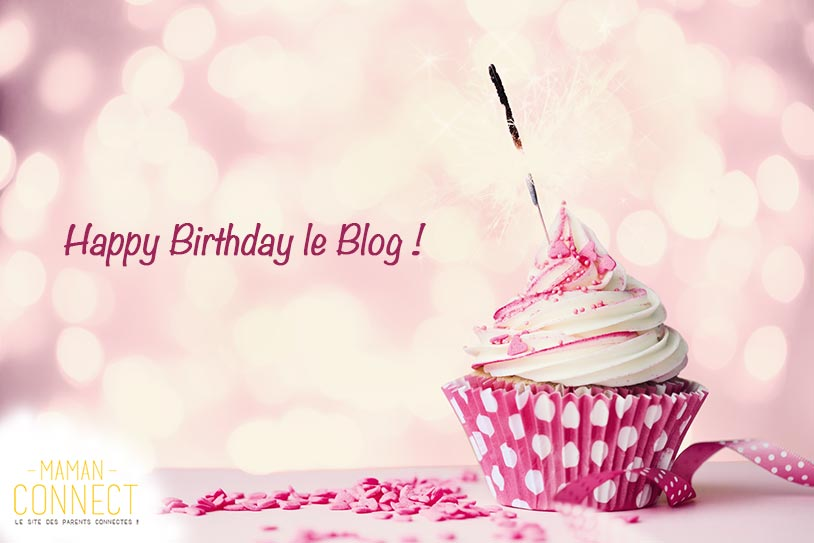 cupcake rose 2 ans du blog