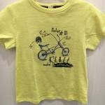 T-shirt moto jaune garçon Tape à l'Oeil