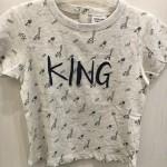 T-shirt king garçon Tape à l'Oeil