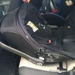 Siège auto Evo Lunafix capote ouverte