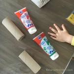 peinture à doigt enfant