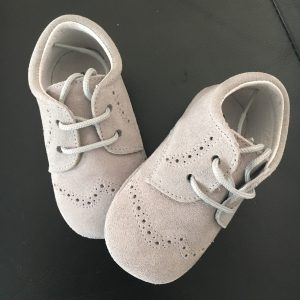 Chaussure bébé fille blucher Pisamonas